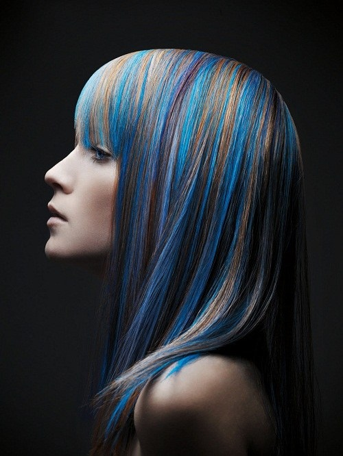 яркие цвета волос картинки 4