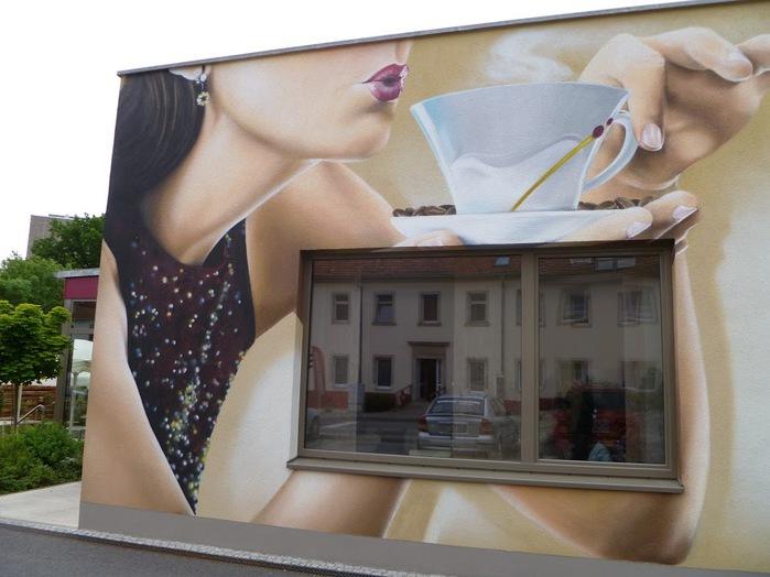 Граффити города Фрайталь (Freital) 74591