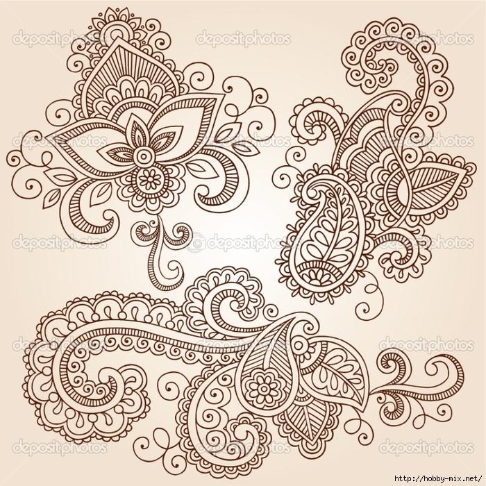 depositphotos_11800105-Henna-Mehndi-Tattoo-Doodles-Vector-Design-Elements (700x700, 457Kb)