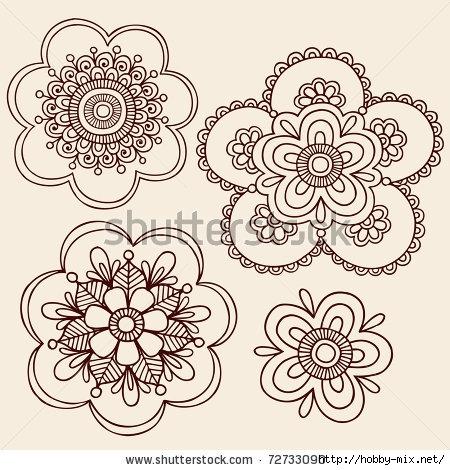stock-vector-hand-drawn-henna-mendhi-mandala-paisley-flowers-doodle-vector-illustration-design-elements-72733090 (450x470, 174Kb)