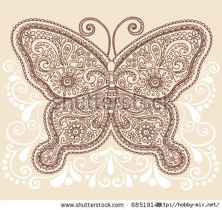 stock-vector-hand-drawn-ornate-butterfly-henna-mehndi-paisley-doodle-vector-illustration-tattoo-design-element-68519146 (450x425, 199Kb)