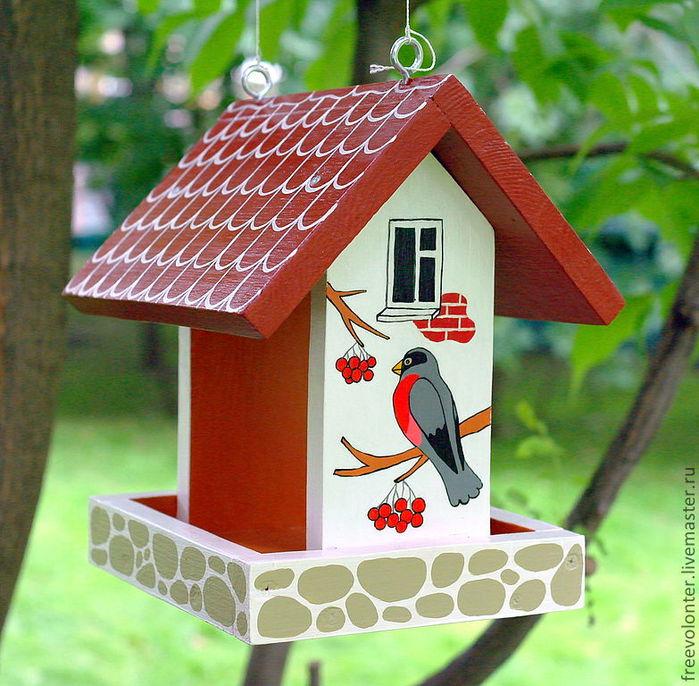Сделать домик для птиц