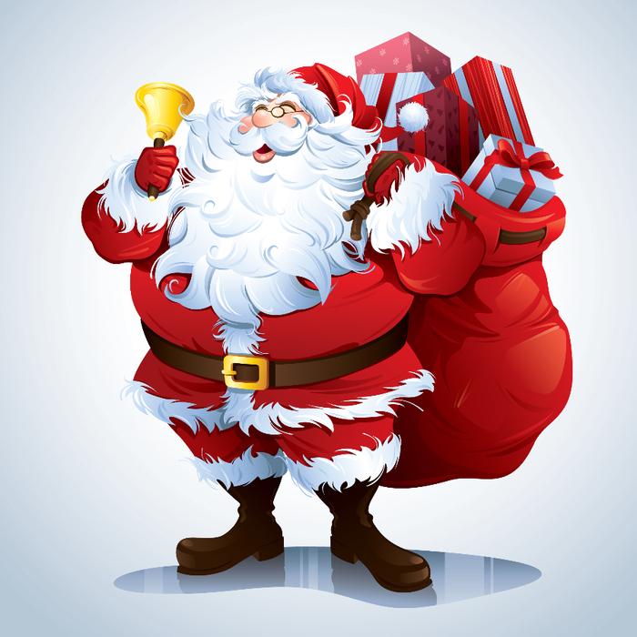 Санта клаус картинки для детей 2