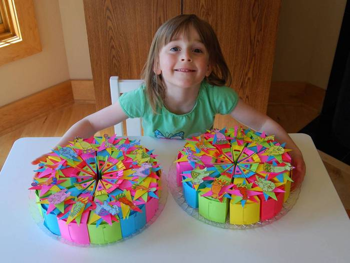 Идея для торта на день рождения ребенка своими руками