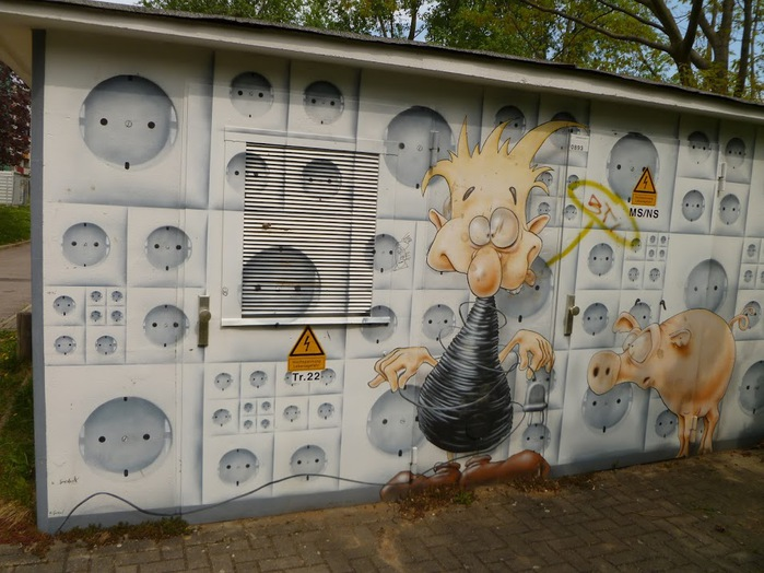 Граффити города Дрезден- часть 3. 13836