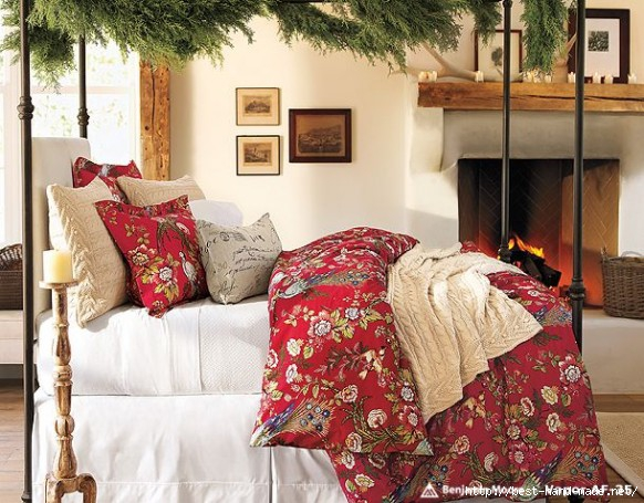 Beuatyfull-Christmas-Bedroom-Decorating-Ideas (582x455, 209Kb)