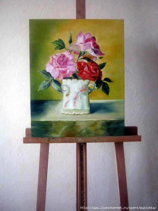 мастер класс по живописи: