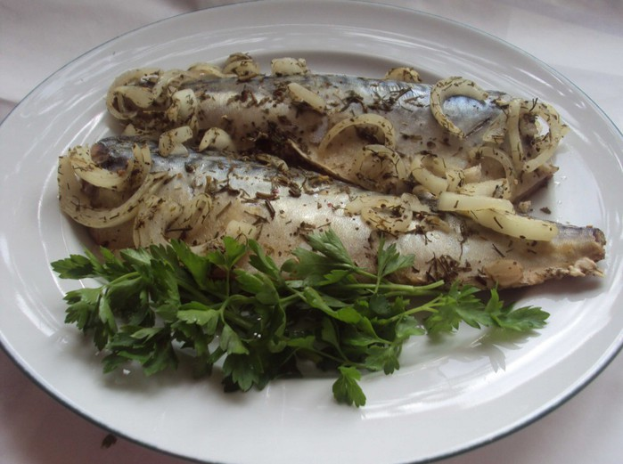 рыба запеченная фото
