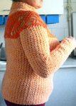 Превью Пуловер с круглой кокеткой бок (499x700, 73Kb)