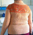 Превью Пуловер с круглой кокеткой спинка (660x700, 139Kb)