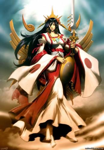 Лунные Богини и Боги 95257902_4711681_Cykyyomi_Yaponiya