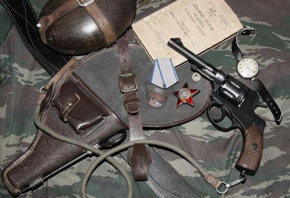 Фото из Интернета. Револьвер