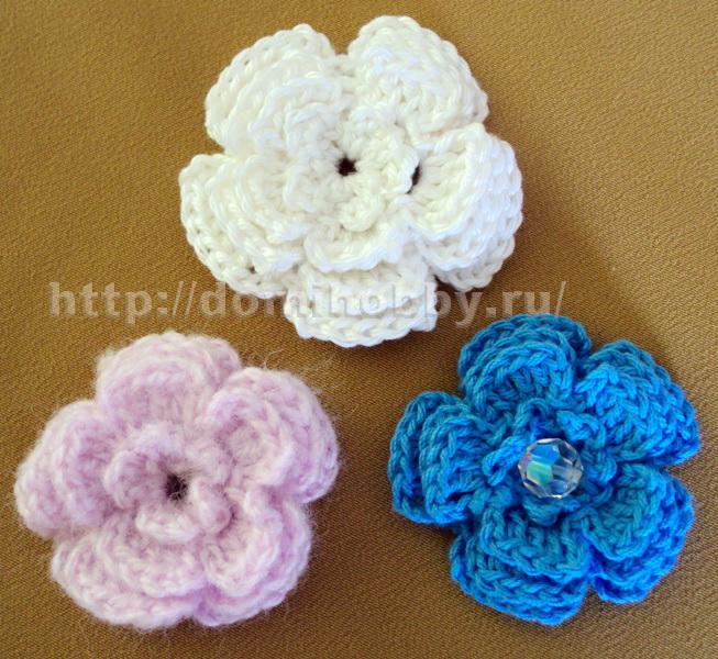 цветы-крючком-мастер-класс