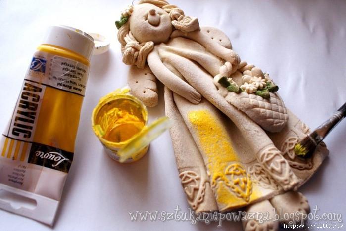 sztuka niepoważna masasolna kurs krok po kroku wielkanoc jak zrobic anioła aniołka DIY tutorial ozdoby na wielkanoc jak zrobić masę solną rękodzieło polskie salt dough.jpg (36) (700x467, 172Kb)