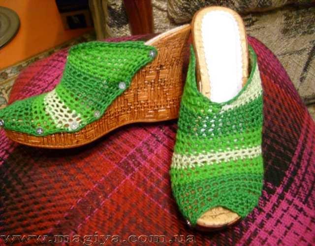 как я делала свою обувь.