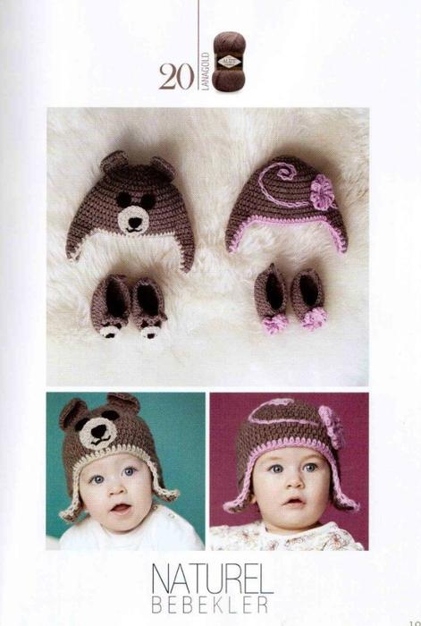 Детская шапка с ушками фото и схемы
