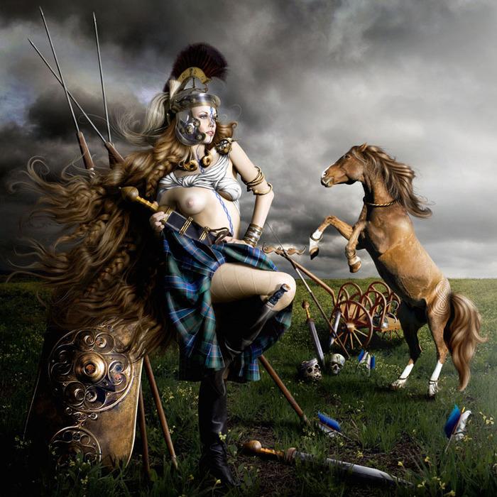 004-Боудикка - царица иценов (26-61 гг н.э.) (700x700, 186Kb)