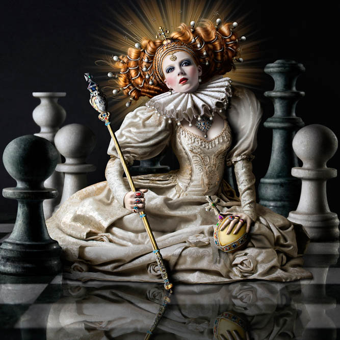 007-Елизавета  - королева-девственница 1533-1603 (667x667, 140Kb)