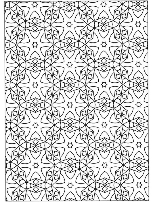 coloring pages intricate patterns illustrator - photo#13