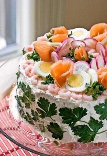 Шведский рыбный торт (374x544, 55Kb)