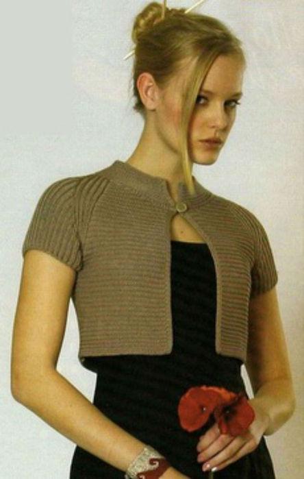 Вязание на спицах болеро спицами модели и