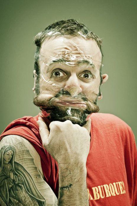Scotch Tape смешные фото людей (464x700, 55Kb)