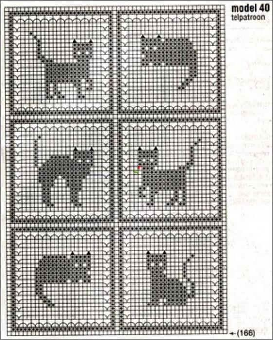 свой цитатник или сообщество!  Кошки вязаные крючком для дома.  Прочитать целикомВ.