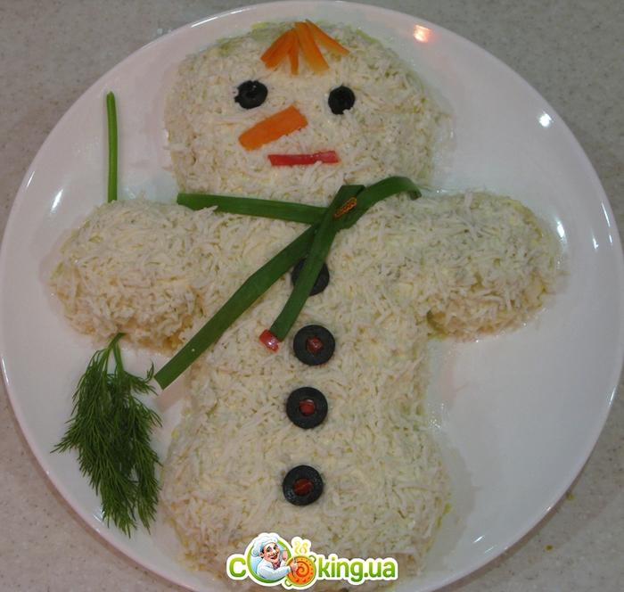 снеговик салат (700x664, 331Kb)