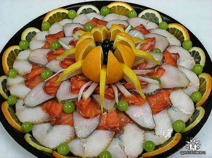 Праздничные блюда своими руками фото