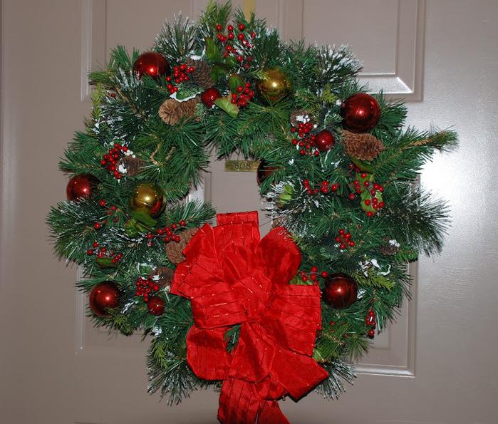 Рождественский венок 14740