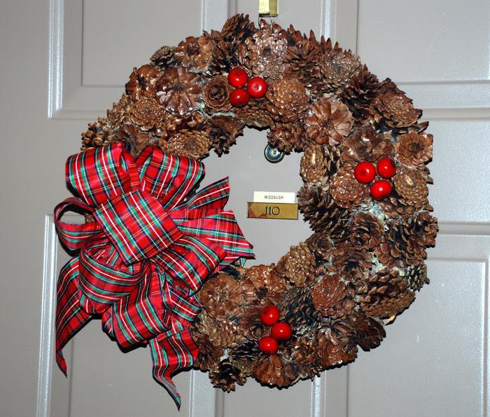 Рождественский венок 54304