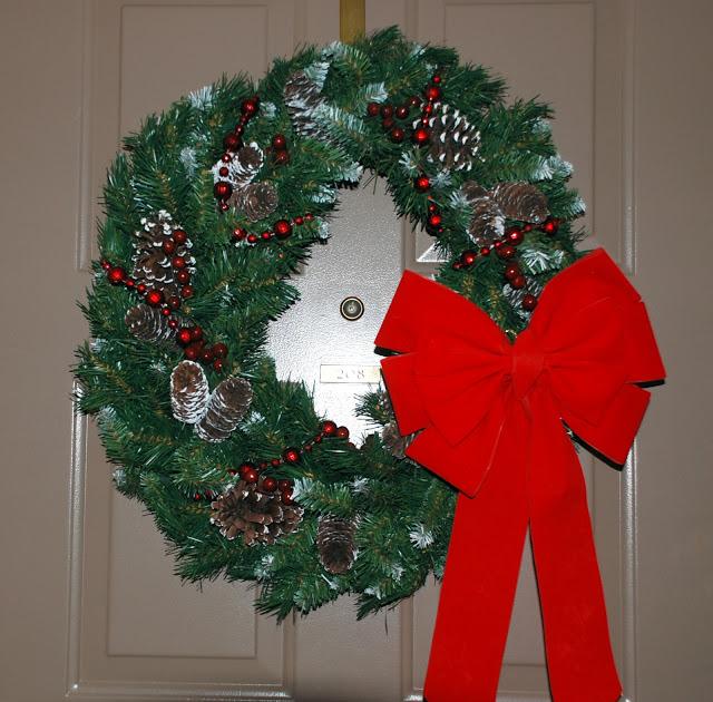Рождественский венок 57908