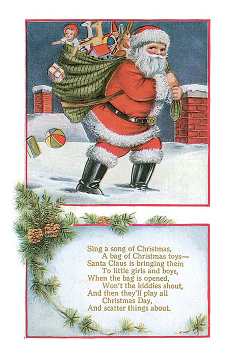 Перевод текста с новым годом