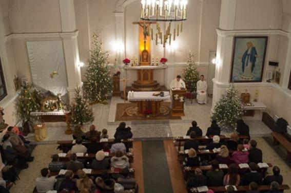 Католики и протестанты встретили Рождество. Фотографии