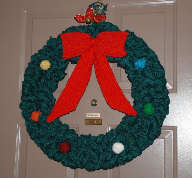 Рождественский венок 95135
