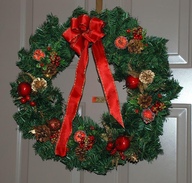 Рождественский венок 88491