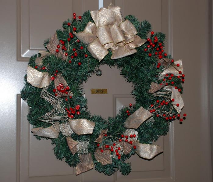 Рождественский венок 60846