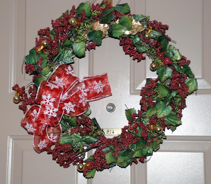 Рождественский венок 77363