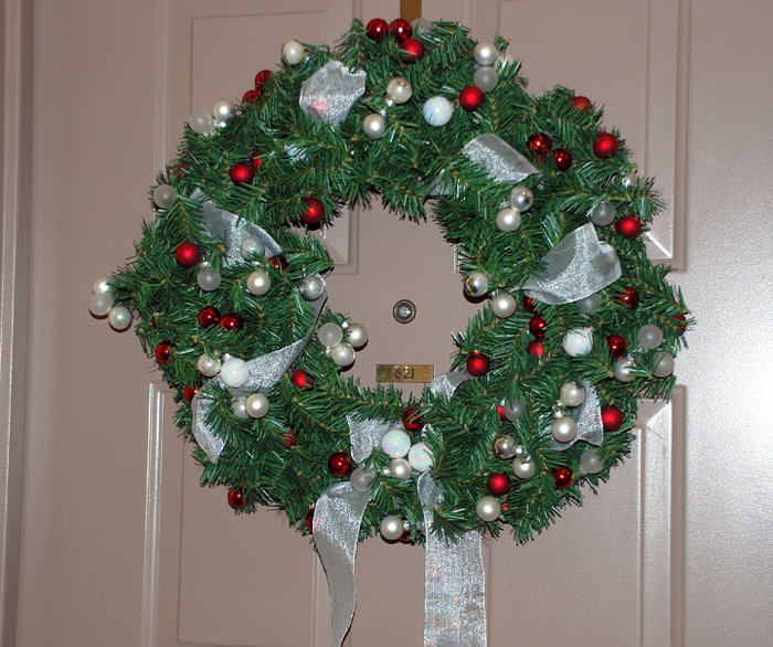 Рождественский венок 62318
