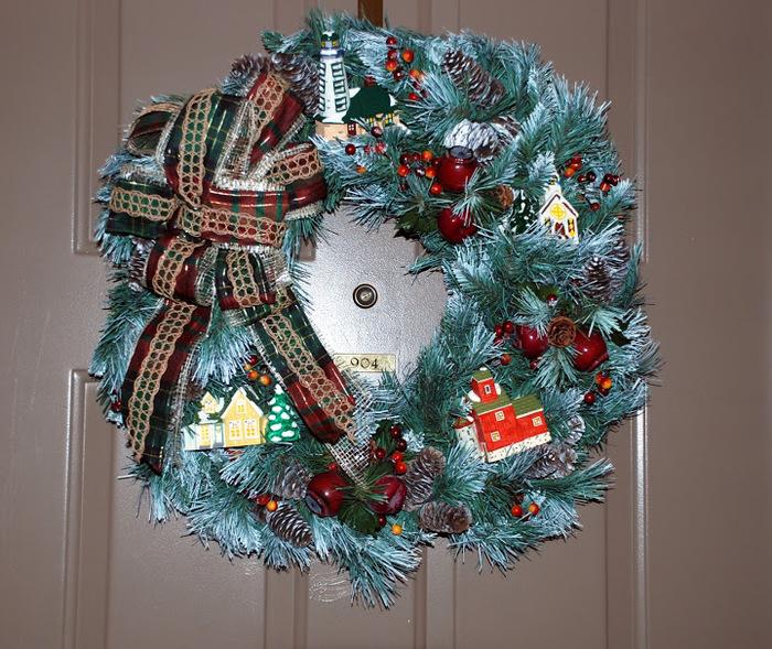 Рождественский венок 62581