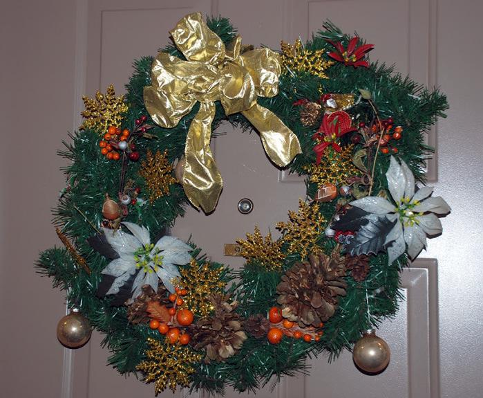 Рождественский венок 75551