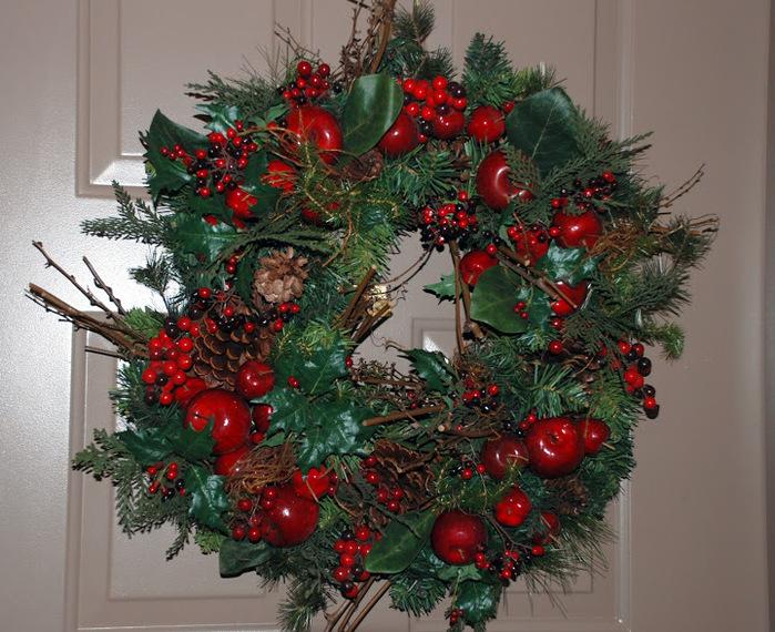 Рождественский венок 38951