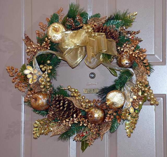 Рождественский венок 14919