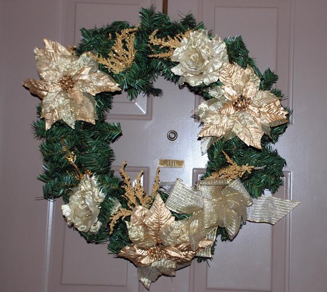 Рождественский венок 14555
