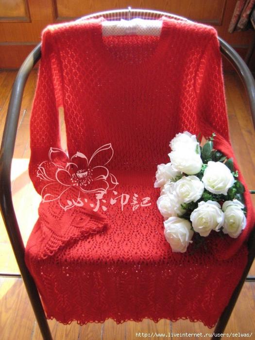 Платье ажурное вязаное спицами/4683827_6597789946772450254 (525x700, 296Kb)