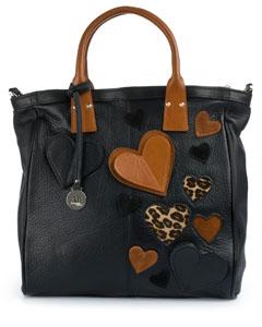 кожаные сумки с аппликацией фото - Стильные сумки.