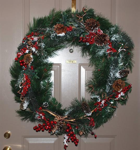 Рождественский венок 12907