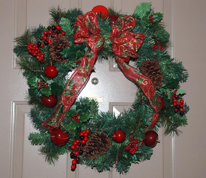Рождественский венок 51710