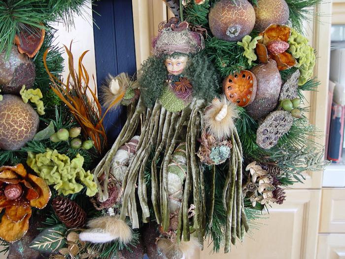 Рождественский венок 43751