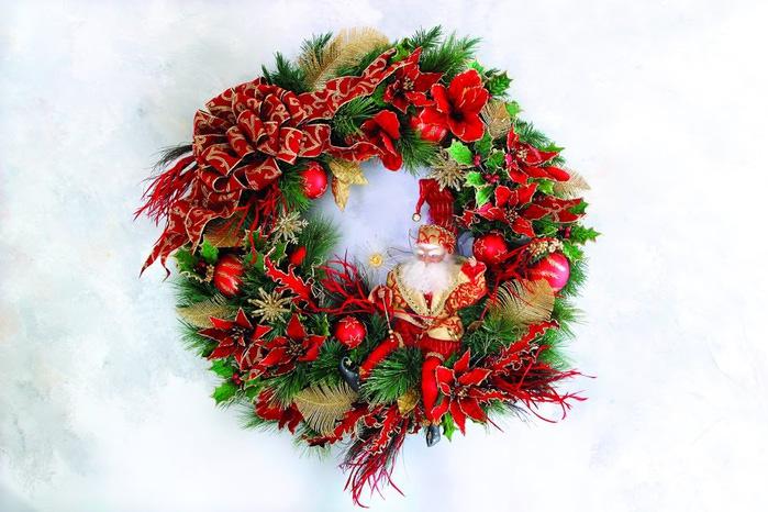 Рождественский венок 89576